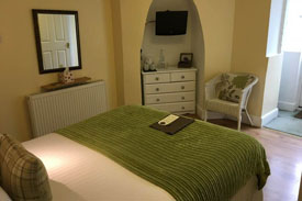 Small Double Garden Room at The Charterhouse Bed and Breakfast Torquay