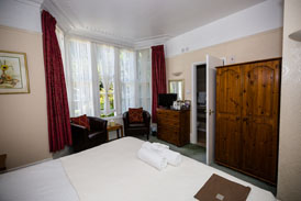 Large Double or Twin Room at The Charterhouse Bed and Breakfast Torquay