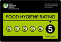 Hygene Rating 5 Star